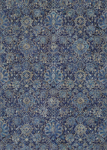 Couristan Easton Winslet Navy/Sapphire Area Rug