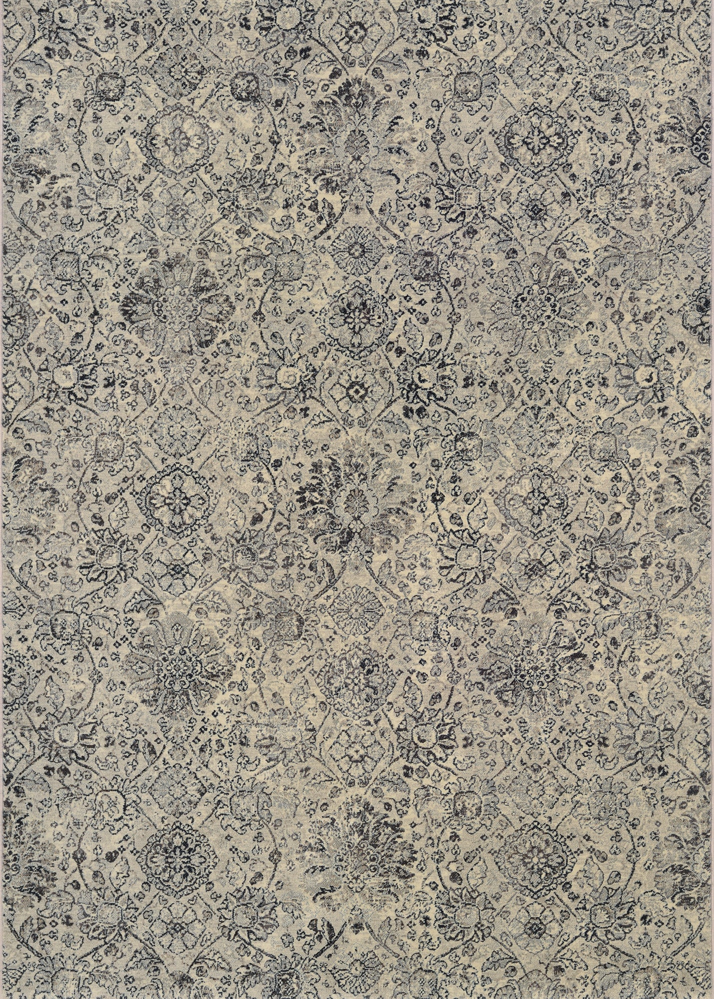 Couristan Easton Winslet Beige/Black Area Rug