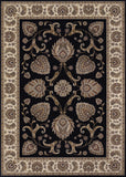 Couristan Everest Leila Ebony Area Rug