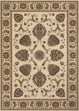 Couristan Everest Leila Ivory Area Rug