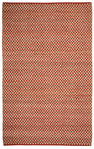 Capel Checkered 6507 Clay 850 Area Rug main image