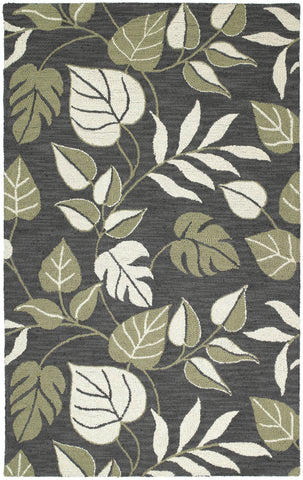 Kaleen Khazana Catalina-94 Black Area Rug