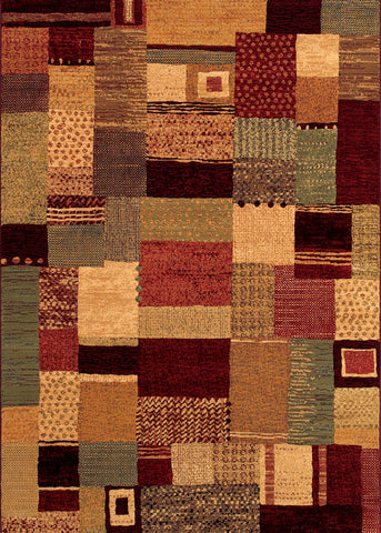 Couristan Easton Maribel Mustard/Multi Area Rug