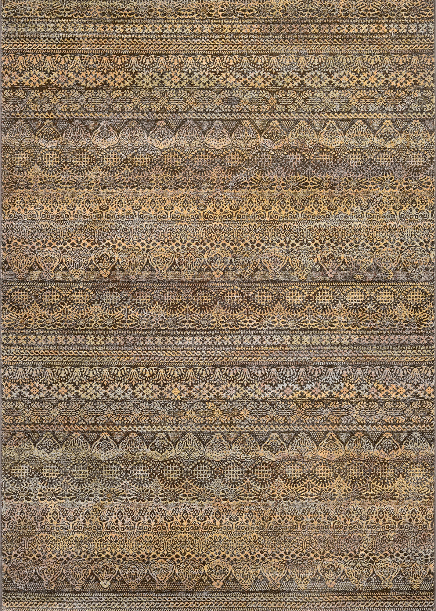 Couristan Easton Capella Brown/Multi Area Rug