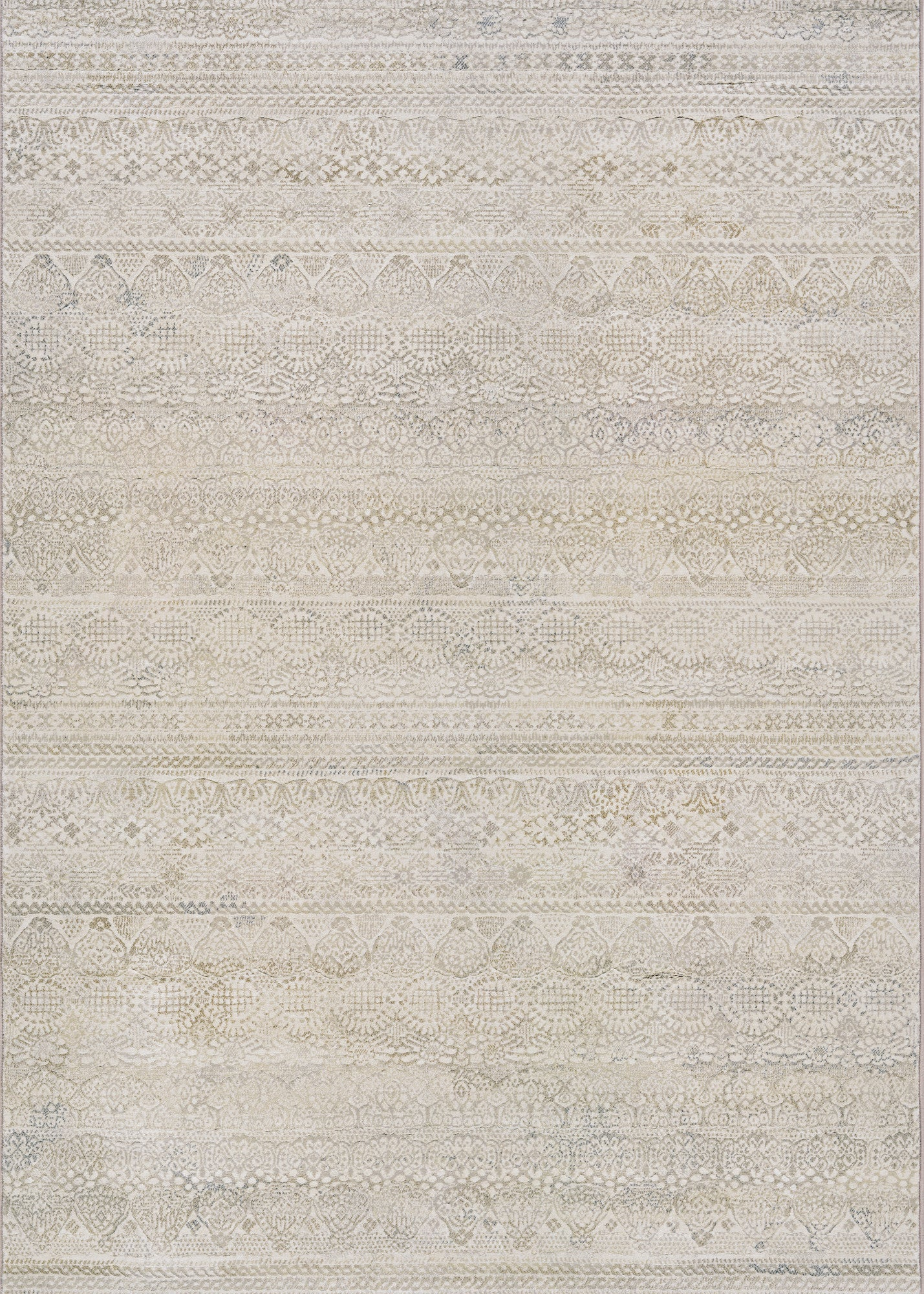 Couristan Easton Capella Ivory/Light Grey Area Rug