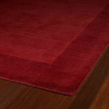 Kaleen Regency 7000-25 Red Area Rug Close-up Shot