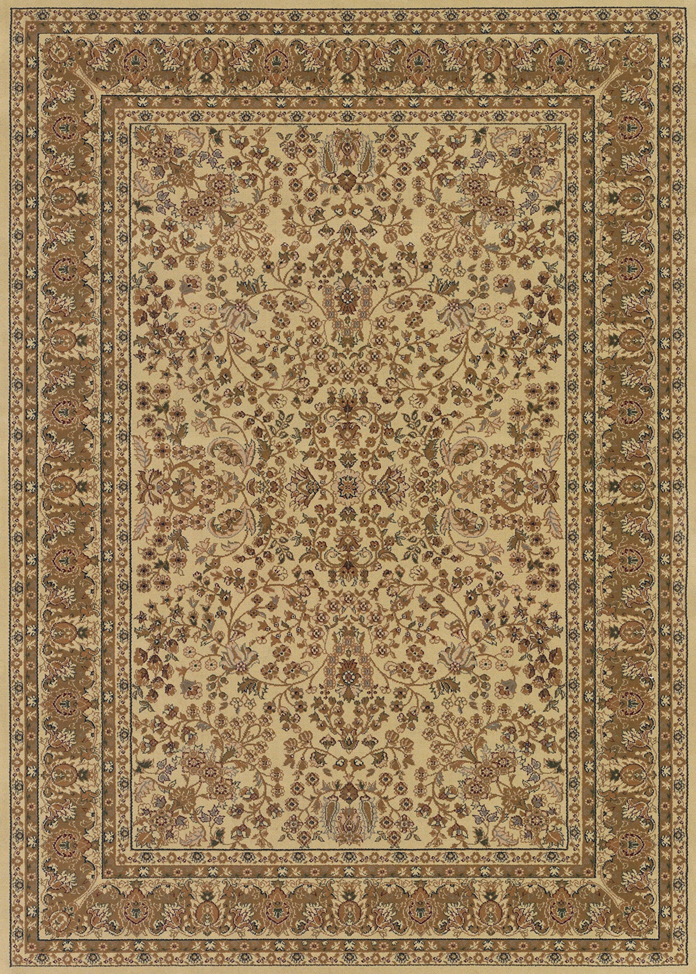 Couristan Izmir Floral Mashhad Ivory Area Rug Incredible Rugs And Decor