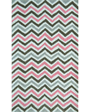 Rug Market America Kids Pink Chevy White/Pink/Gray Area main image