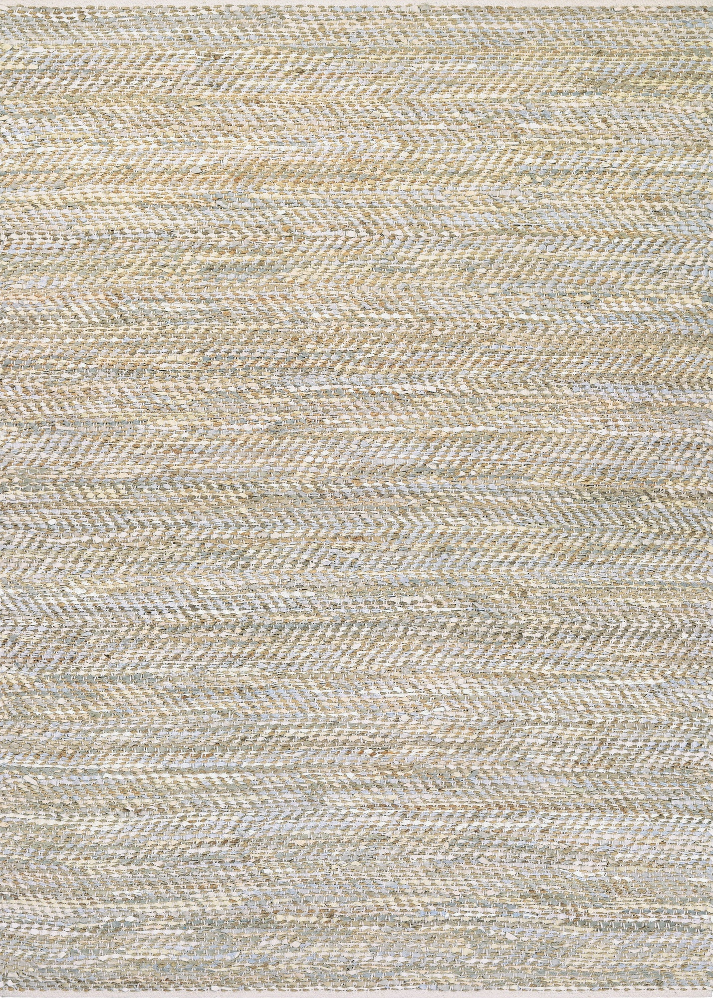 Couristan Nature's Elements Clouds Ivory/Oatmeal/Skyblue Area Rug