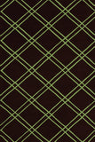 Rug Market America CO Bailey Black/Lime Area 5' 0'' X 8' 0''