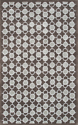 Rug Market America DC Luna Grey Brown/Grey Area main image