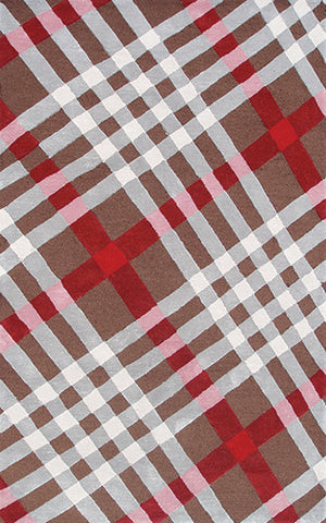 Rug Market America DC Brit Plaid Brown/Ivory/Beig Area main image