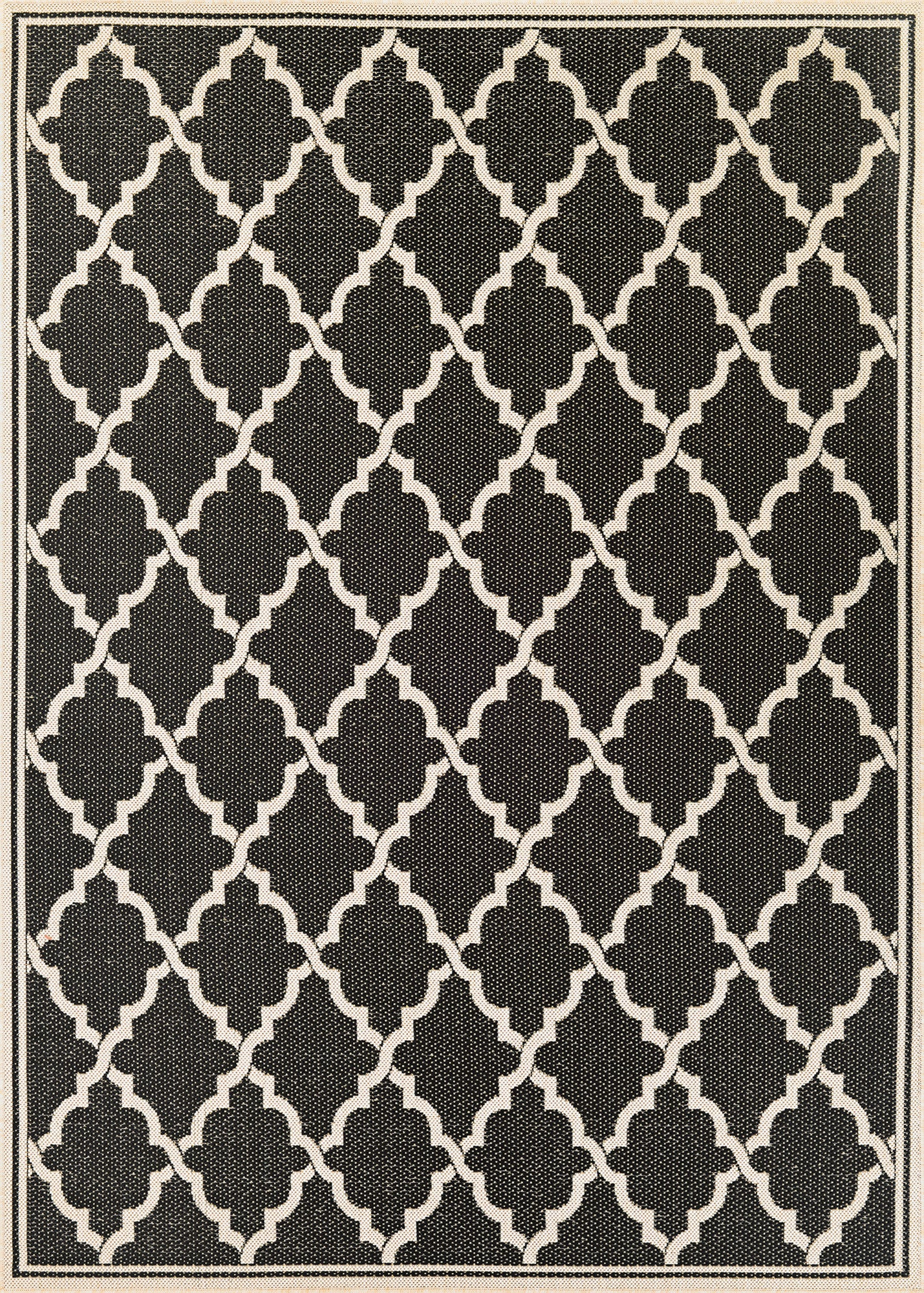 Couristan Monaco Ocean Port Black/Sand Area Rug