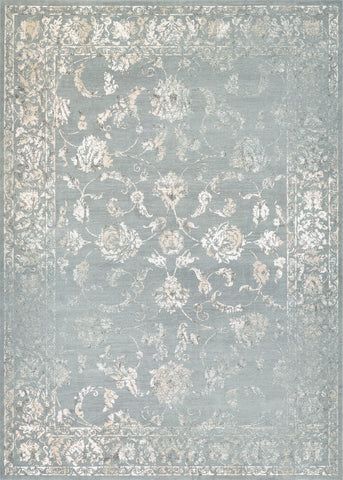 Couristan Provincia Botanic Applique Mint/Cream Area Rug