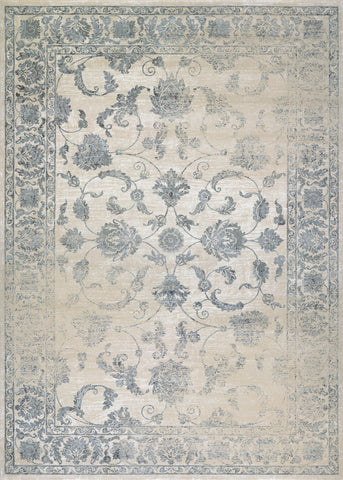Couristan Provincia Botanic Applique Beige/Grey Area Rug