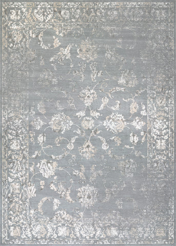 Couristan Provincia Botanic Applique Grey/Cream Area Rug
