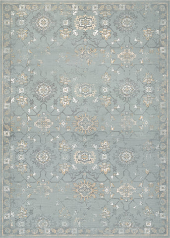 Couristan Provincia Odette Mint/Cream Area Rug