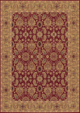 Couristan Royal Kashimar All Over Vase Persian Red Machine Loomed Area Rug
