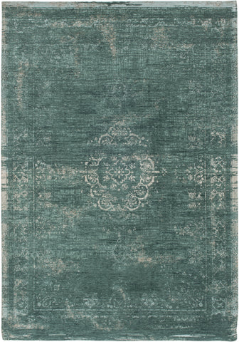 Louis de Poortere Fading World Medallion 8258 Jade Area Rug main image