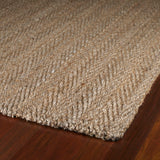 Kaleen Essentials Coir-05 Natural Area Rug Close-up Shot