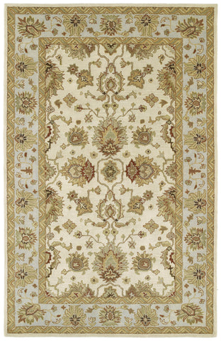 Kaleen Heirloom Heather-02 Ivory Area Rug