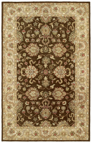 Kaleen Heirloom Melanie-04 Brown Area Rug main image