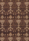 Couristan Sagano Belachan Chocolate/Tan Area Rug