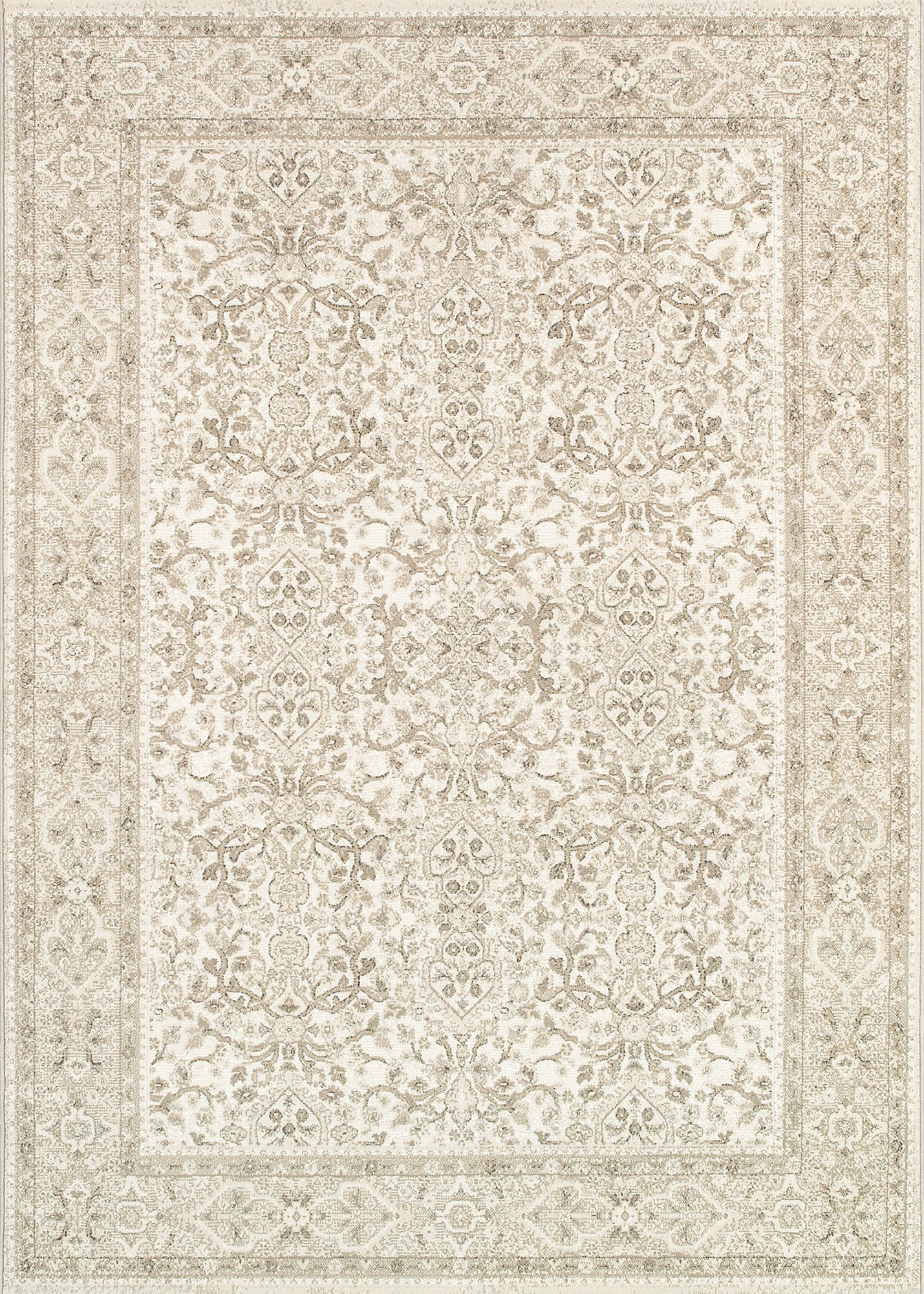 Couristan Marina St Tropez Champagne/Pearl Area Rug