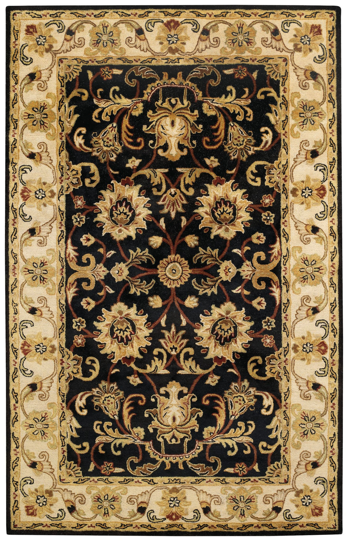 Capel Guilded 9205 Onyx 360 Area Rug main image