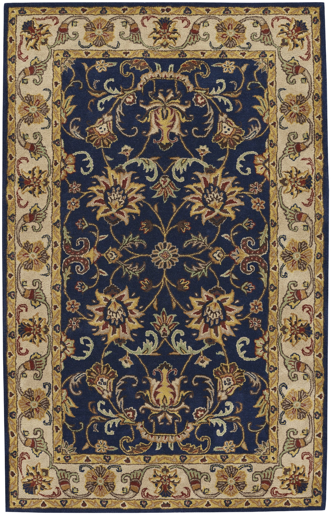 Capel Guilded 9205 Dark Blue 475 Area Rug main image