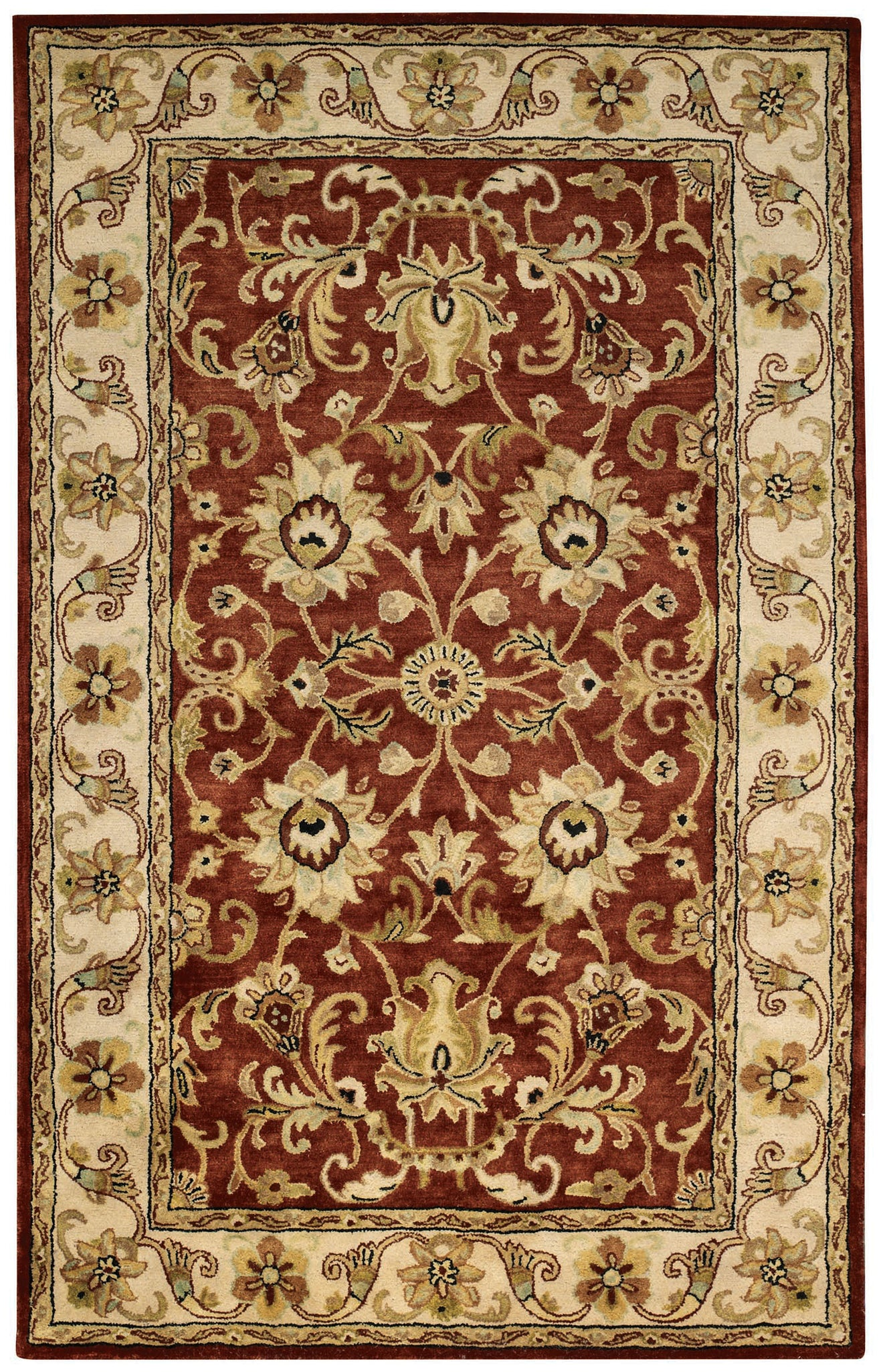 Capel Guilded 9205 Red 560 Area Rug main image