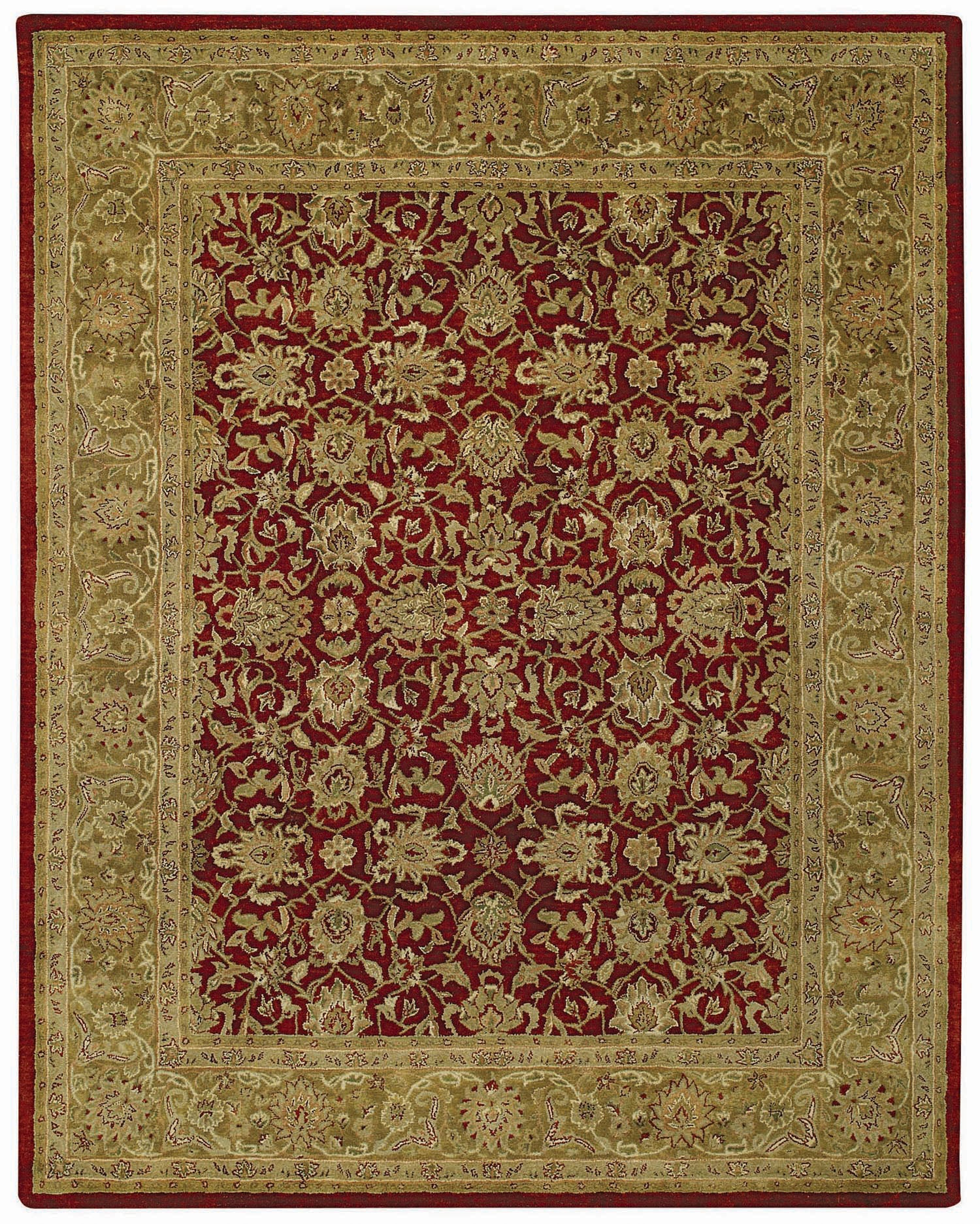 Capel Orinda Meshed 9212 Red 525 Area Rug main image