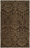 Capel Lace 9225 Brown 750 Area Rug main image