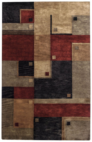 Capel Left Bank 9230 Poppy Multi 550 Area Rug main image