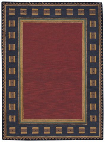 Capel Castle Rock 9233 Poppy 550 Area Rug main image