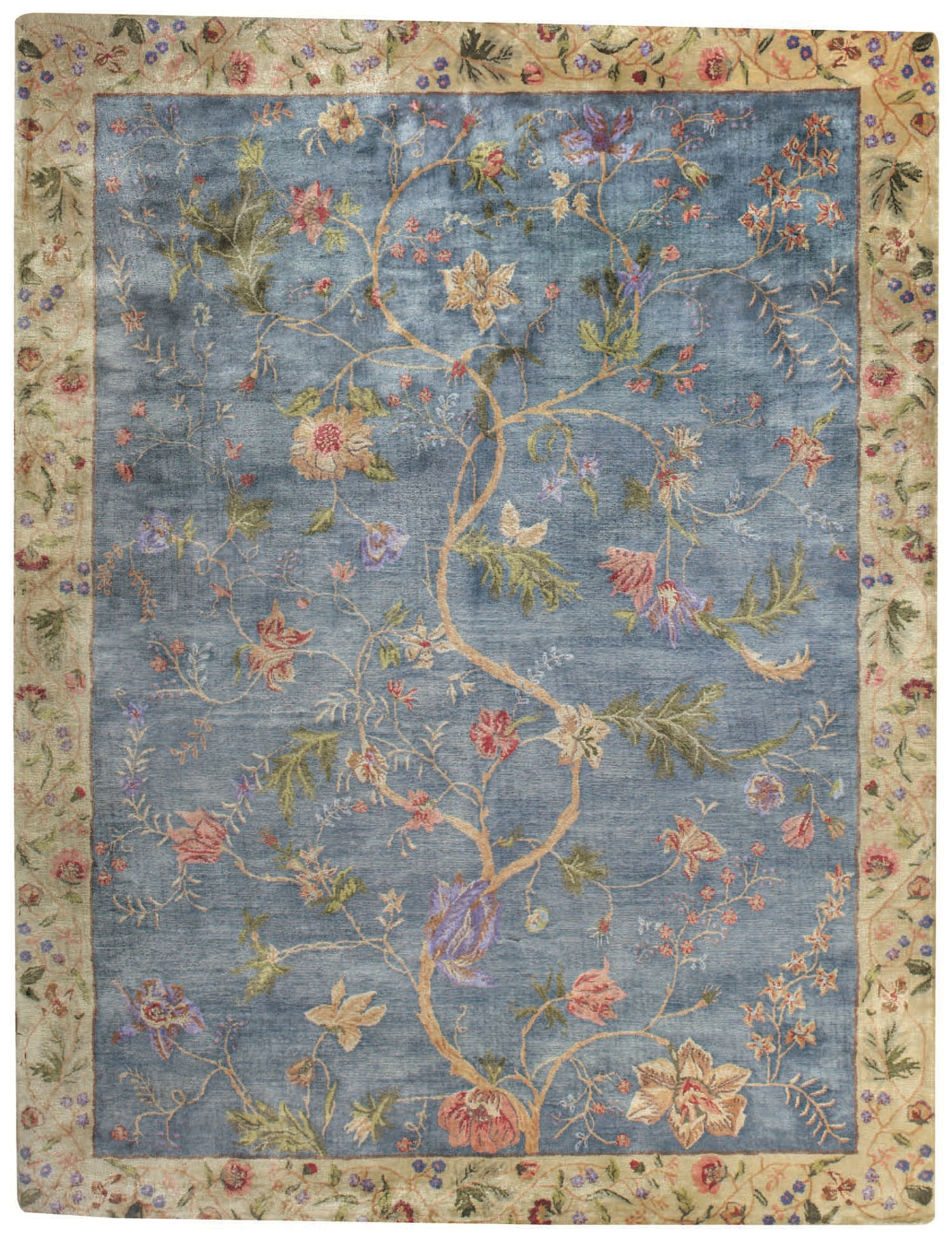 Capel Garden Farms #3 9249 Blue 425 Area Rug main image