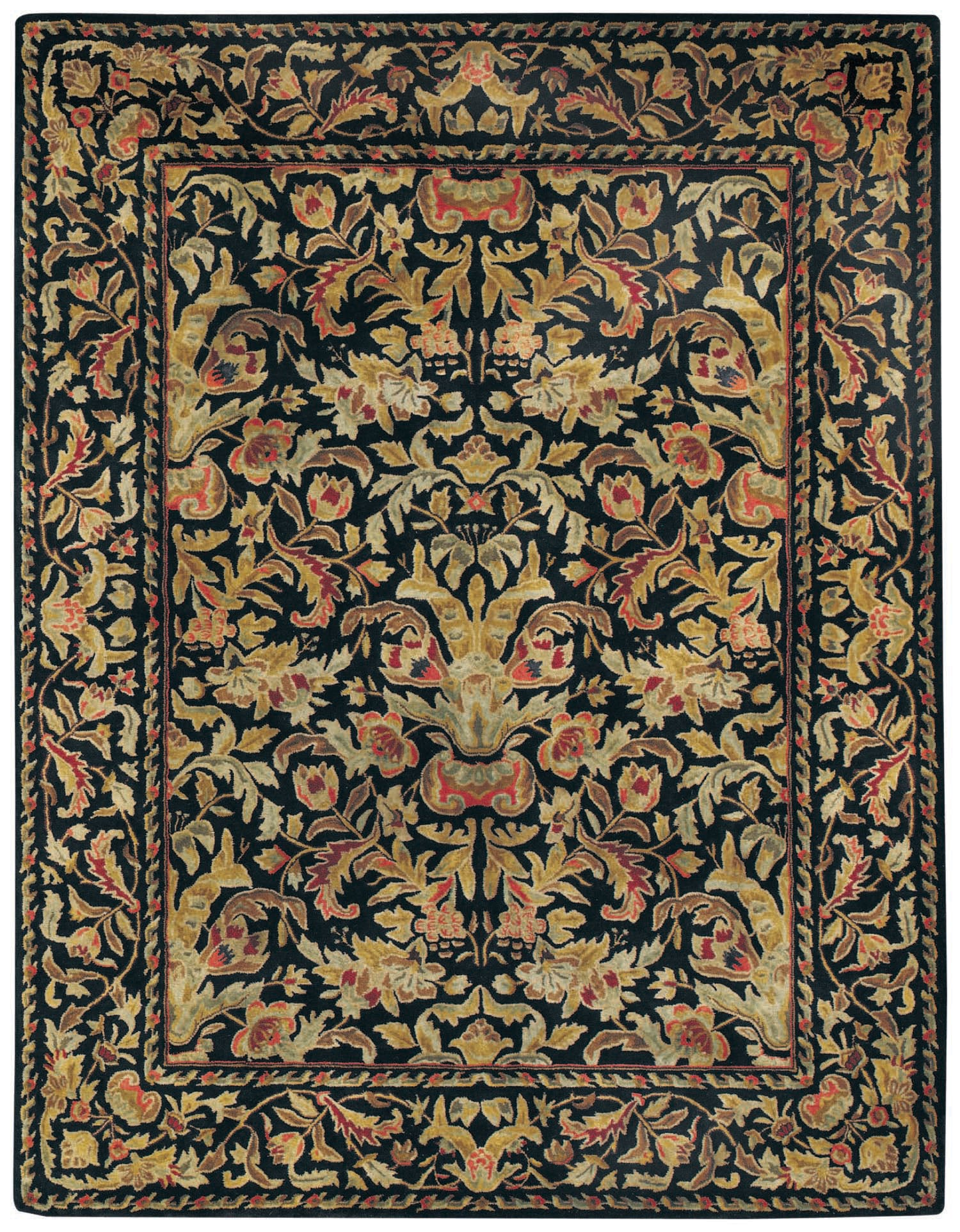 Capel Garden Farms 9250 Black 300 Area Rug main image