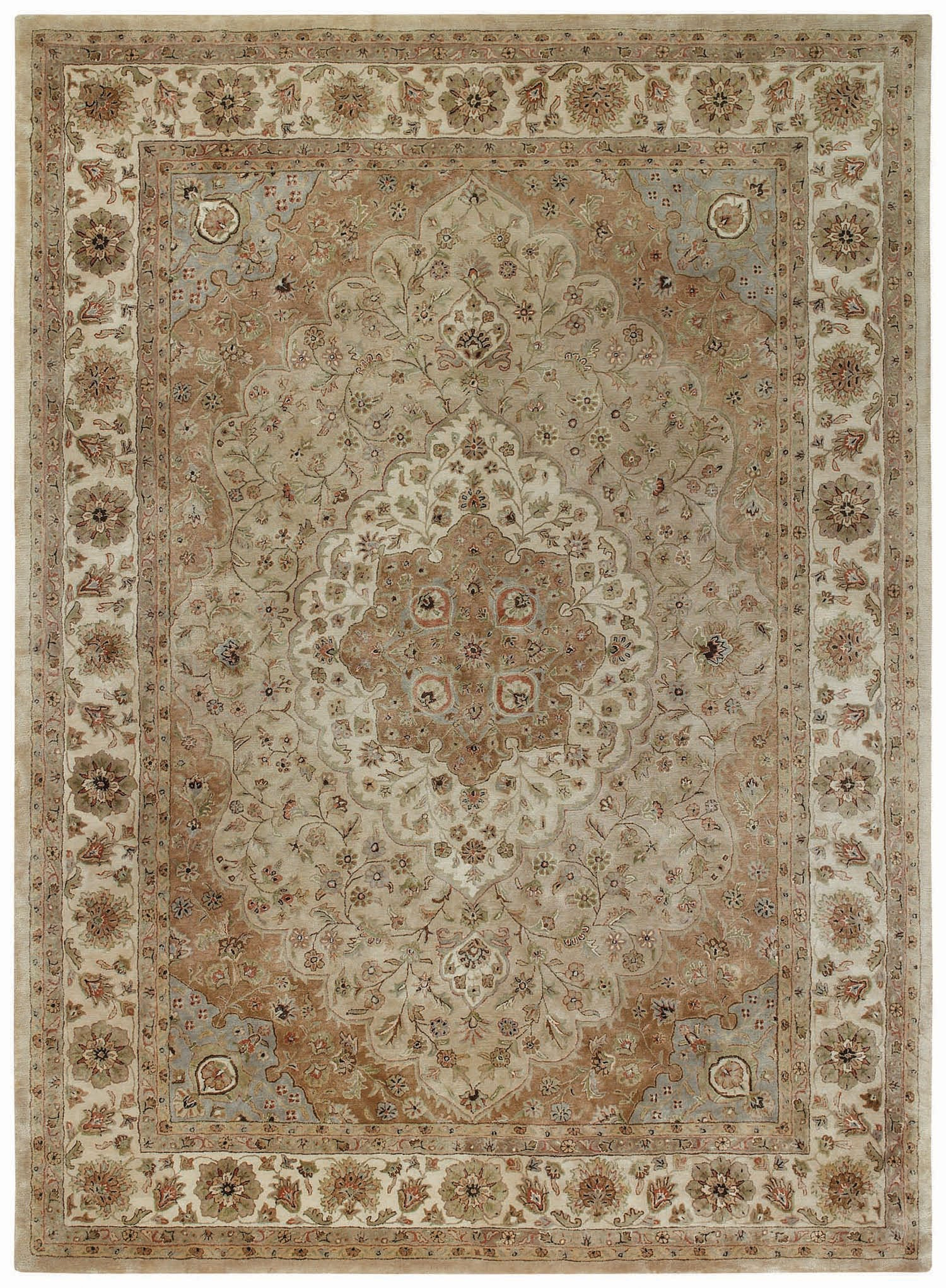 Capel Forest Park Tabriz 9265 Brown 700 Area Rug main image