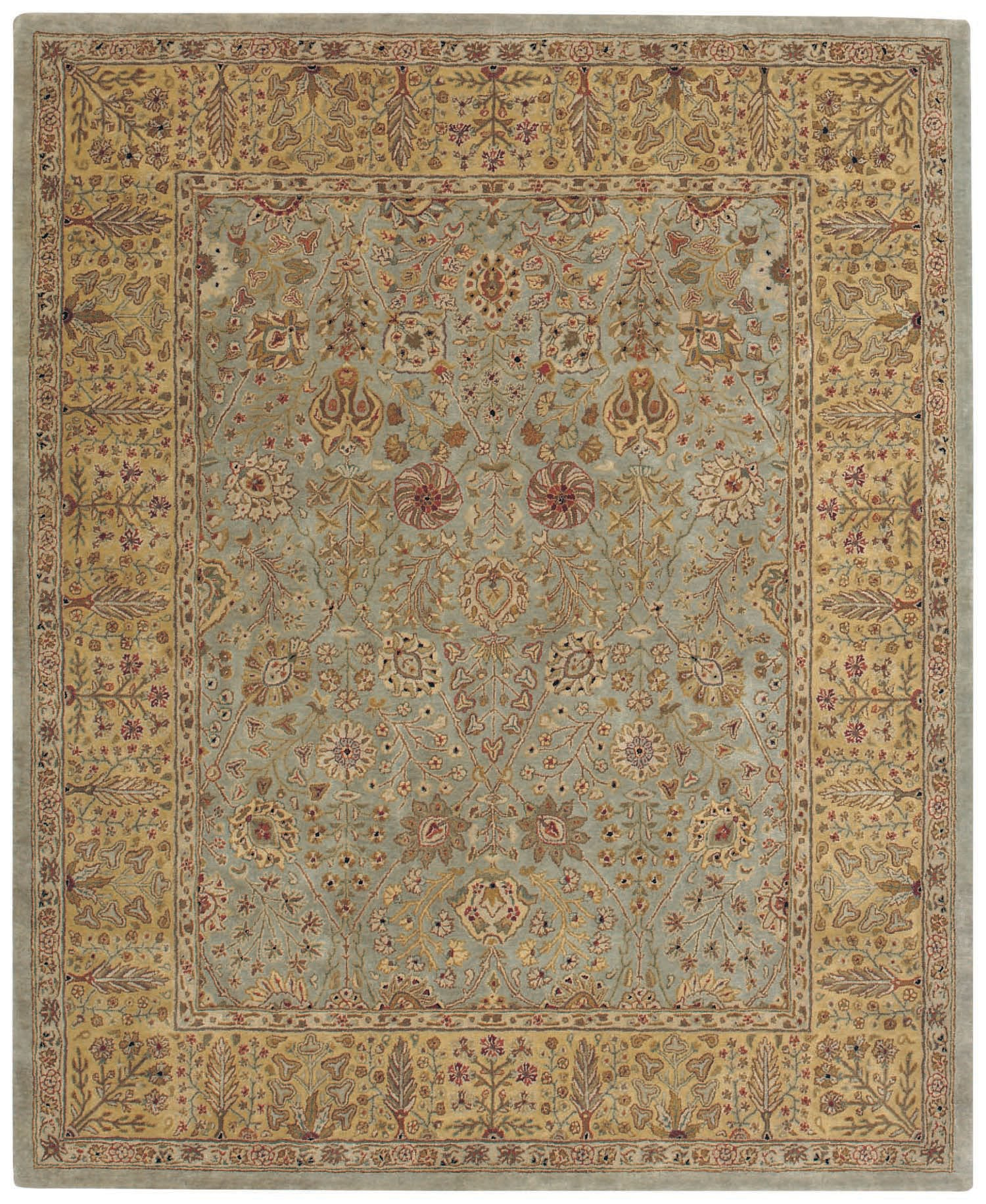 Capel Forest Park Persian Cedars 9292 Green 200 Area Rug main image