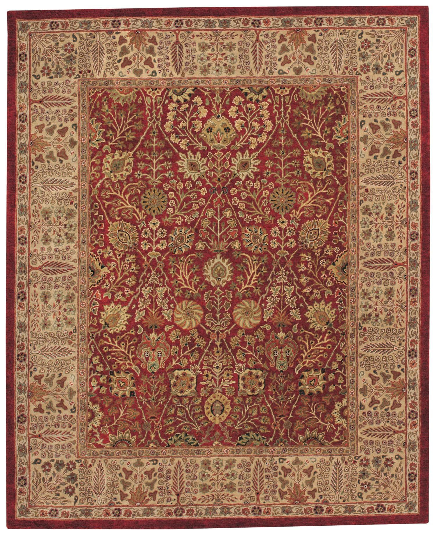 Capel Forest Park Persian Cedars 9292 Red 500 Area Rug main image