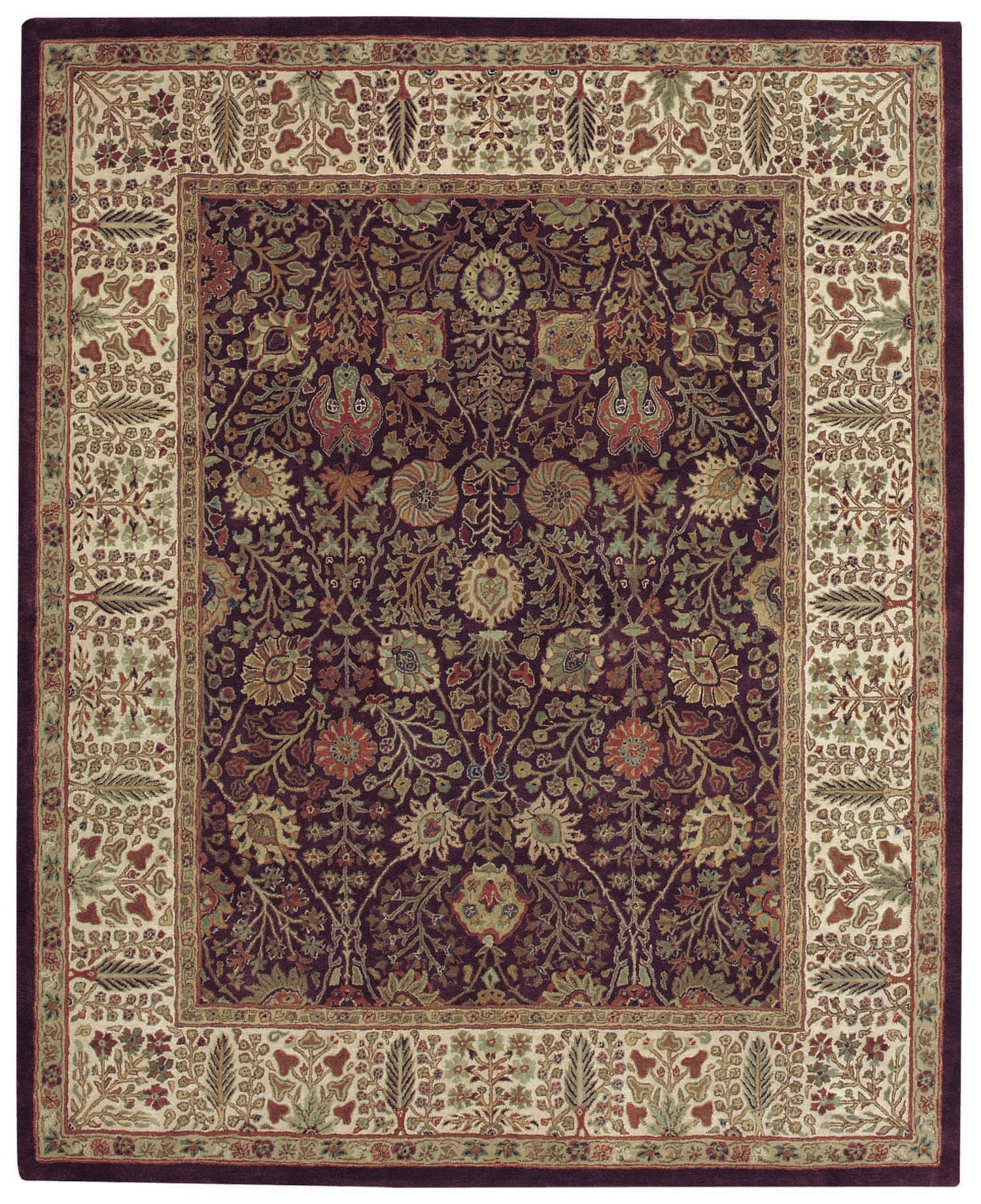 Capel Forest Park Persian Cedars 9292 Dark Plum 550 Area Rug main image