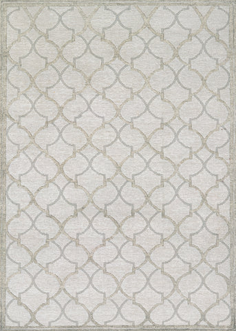 Couristan Madera Langdon Grey/Silver Area Rug