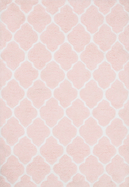 Loloi Lola Shag Ll 05 Blush Ivory Area Rug Incredible