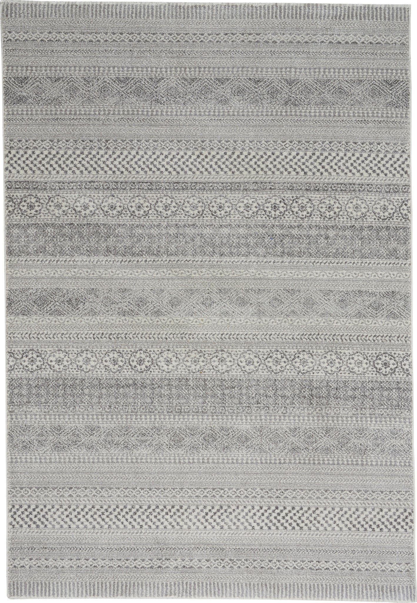 Capel Channel 4742 Nickel Area Rug main image