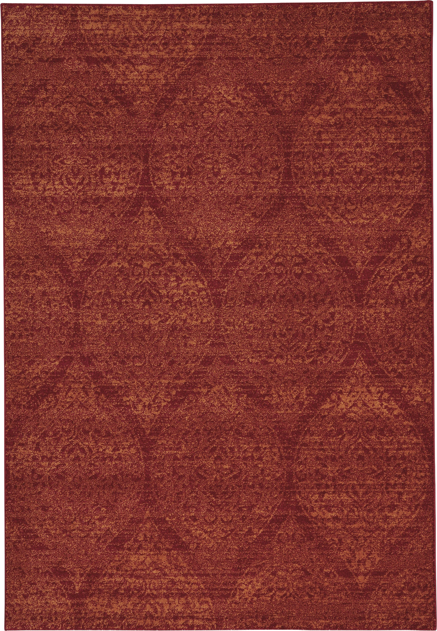 Capel Channel 4742 Flame Area Rug main image