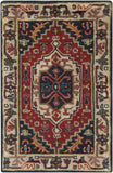 Surya Ancient Treasures A-134 Burgundy Area Rug 2' X 3'