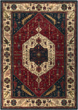 Surya Ancient Treasures A-134 Area Rug 8' X 11'