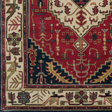 Surya Ancient Treasures A-134 Burgundy Area Rug Sample Swatch