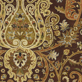 Surya Ancient Treasures A-141 Chocolate Area Rug Sample Swatch