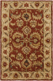 Surya Ancient Treasures A-147 Burgundy Area Rug 2' X 3'